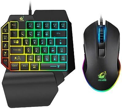 Gaming Keyboard Mouse Set Teclado Profesional para Juegos ...