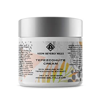 ASDM Beverly Hills Tepezcohuite Cream 4oz/120ml Natural Skin Scar, Burn,  Abrasion and Eczema