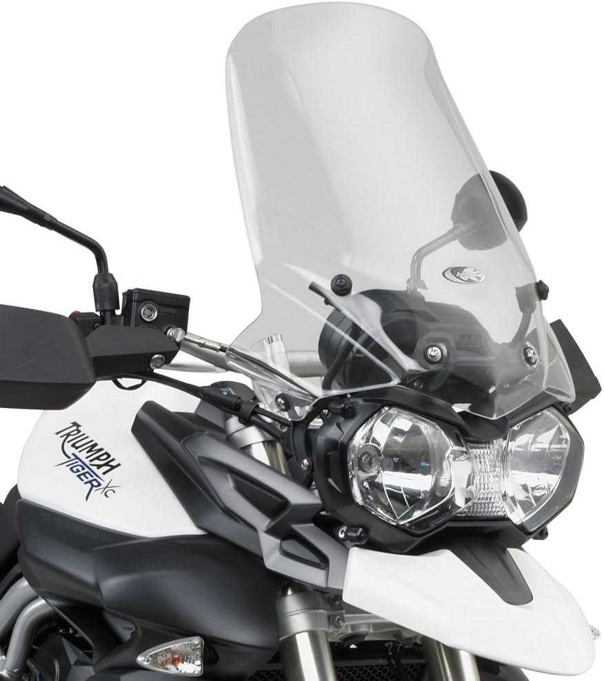 Specific Transparent Dome Windscreen for Triumph Tiger 800//Tiger 800/XC