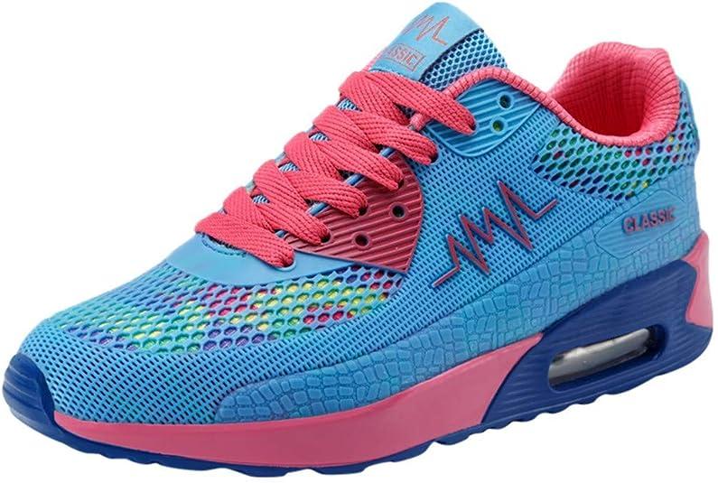 FAMILIZO Zapatillas Mujer Running Zapatillas Deportivas De Mujer Sneakers Women Primavera Casual Cordón Up Transpirable Deporte Running Plataforma Zapatillas Zapatos: Amazon.es: Zapatos y complementos