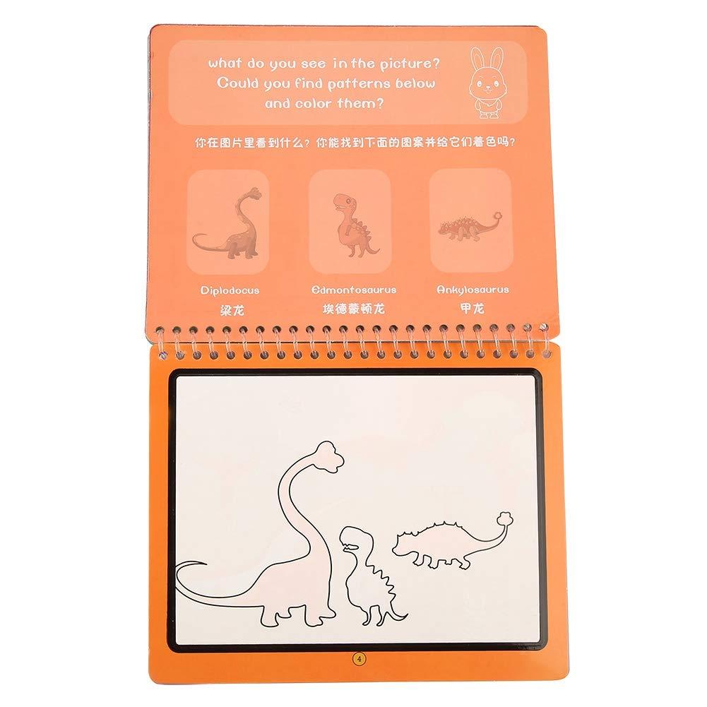 Animal Nitrip Dibujo de Dibujos Animados en Agua con Pluma m/ágica para Colorear Tablero de Pintura Doodle Ni/ños Juguetes