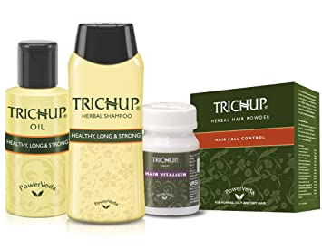 Amazon Com Trichup Herbal Hair Care Kit Beauty