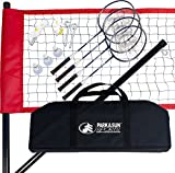 Cheap Park & Sun Sports Portable Outdoor Badminton Net System with Carrying Bag and Accessories: Sport Series