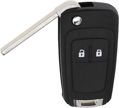 2 Tasten Funkschlüssel Gehäuse Schlüsselgehäuse Ersatz Kompatibel Mit Opel Astra J Corsa E Schlüssel Küche Haushalt