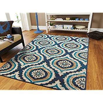luxury contemporary rugs for living room blue