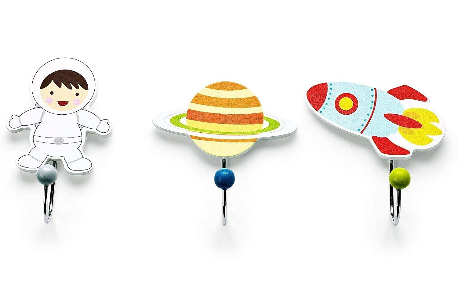Mousehouse Gifts Set of Three Childrens Kids Spaceman, Space Astronaut, Rocket Themed Single...