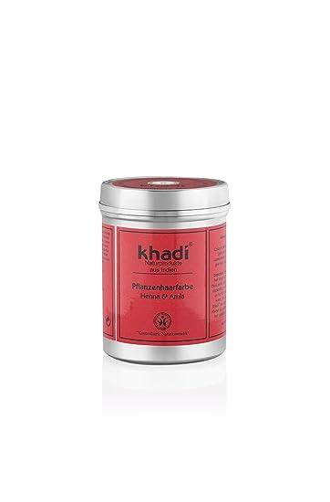 Khadi Pflanzen-Haarfarbe Henna & Amla 150g I Natur-Haarfarbe Kirsch ...