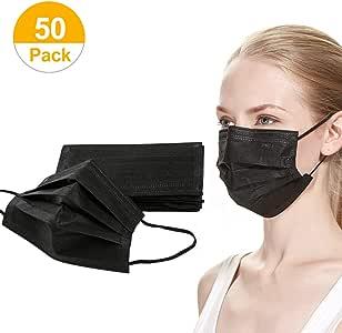 Amazon.com: 50 Pack Disposable Face Masks Unisex Four