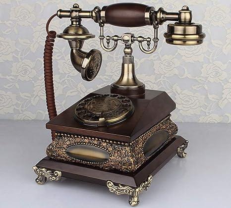 AXJa Muebles antiguos, teléfono con marcación directa ...