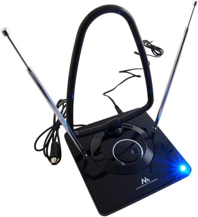 Maclean MCTV-963 - Antena TV Radio DVB-T Interior DVBT 45dB
