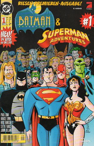 Batman & Superman Adventures # 1 - Dino Comics 1997 (Batman & Superman) Comic – 1997 Dino Verlag Panini B004YOZYA4 Belletristik - Comic