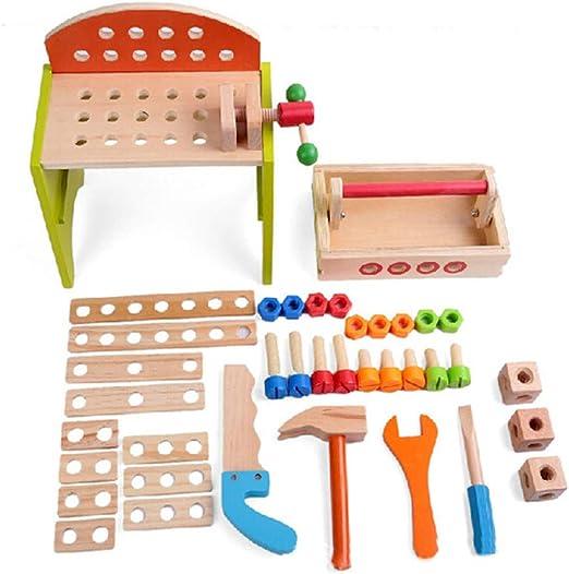 Lineary Baby Block Toys Bricolaje para niños Carpintero de Juguete ...