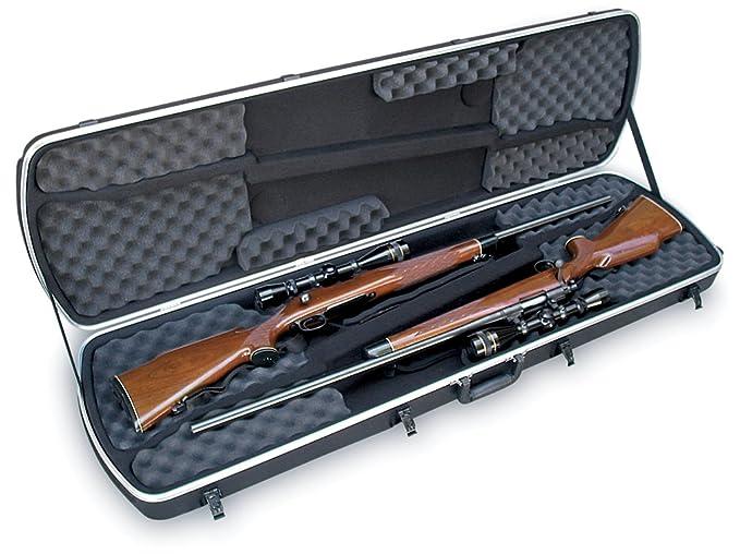 Amazon.com: SKB Hunter Series Funda Doble para rifle: Sports ...
