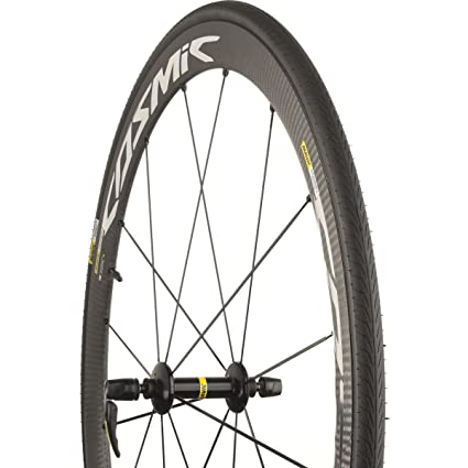 2eb90518553 Amazon.com : Mavic Cosmic Carbone 40 Elite + Yksion Tire Road 700C Clincher  Wheelset : Sports & Outdoors