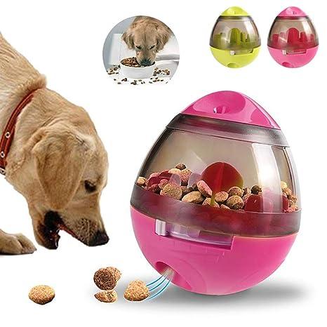 ANGGO - Bola interactiva para dispensar Alimentos para Perros, Mascotas, Perros, Gatos,