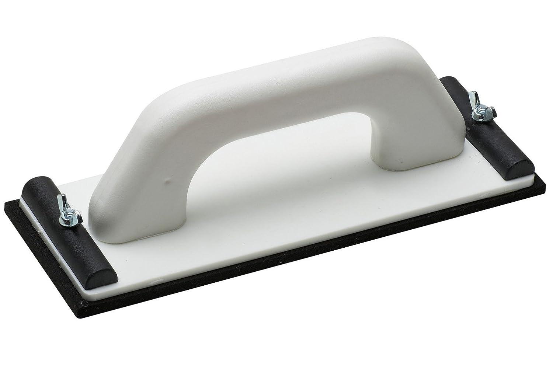 a secco di rettifica a Maestro smerigliatrice manuale in plastica ✓ Muschio gomma di rivestimento ✓ 240/X 80/mm ✓ con dispositivo di bloccaggio per griglia Lino 4137800 | Universale Whetstone Rigips