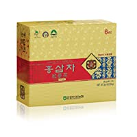 [Gangwoninsam] 6 Year Korean Red Ginseng Tea (3g x 50 Packets) – Contains 6 Year...