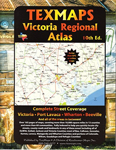 (Victoria Regional Atlas (USA StreetFinder Atlas))