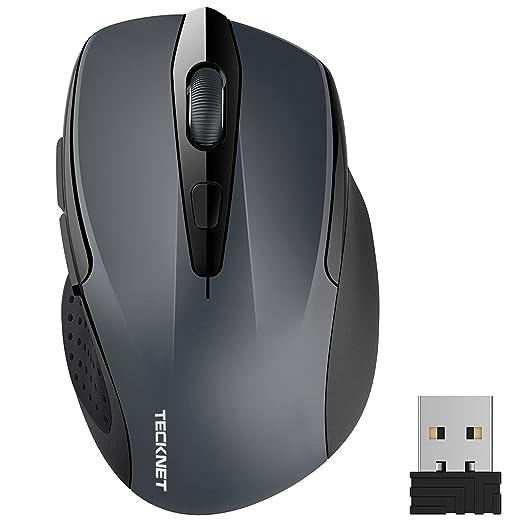 2231 opinioni per TeckNet Pro Mouse Senza Fili, 2600DPI, Durata delle batterie di 24 Mesi, 2.4G