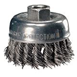 Advance Brush 82226 2-3/4'' Knot Wire Cup Brush .020 Cs Wire M10x1.50