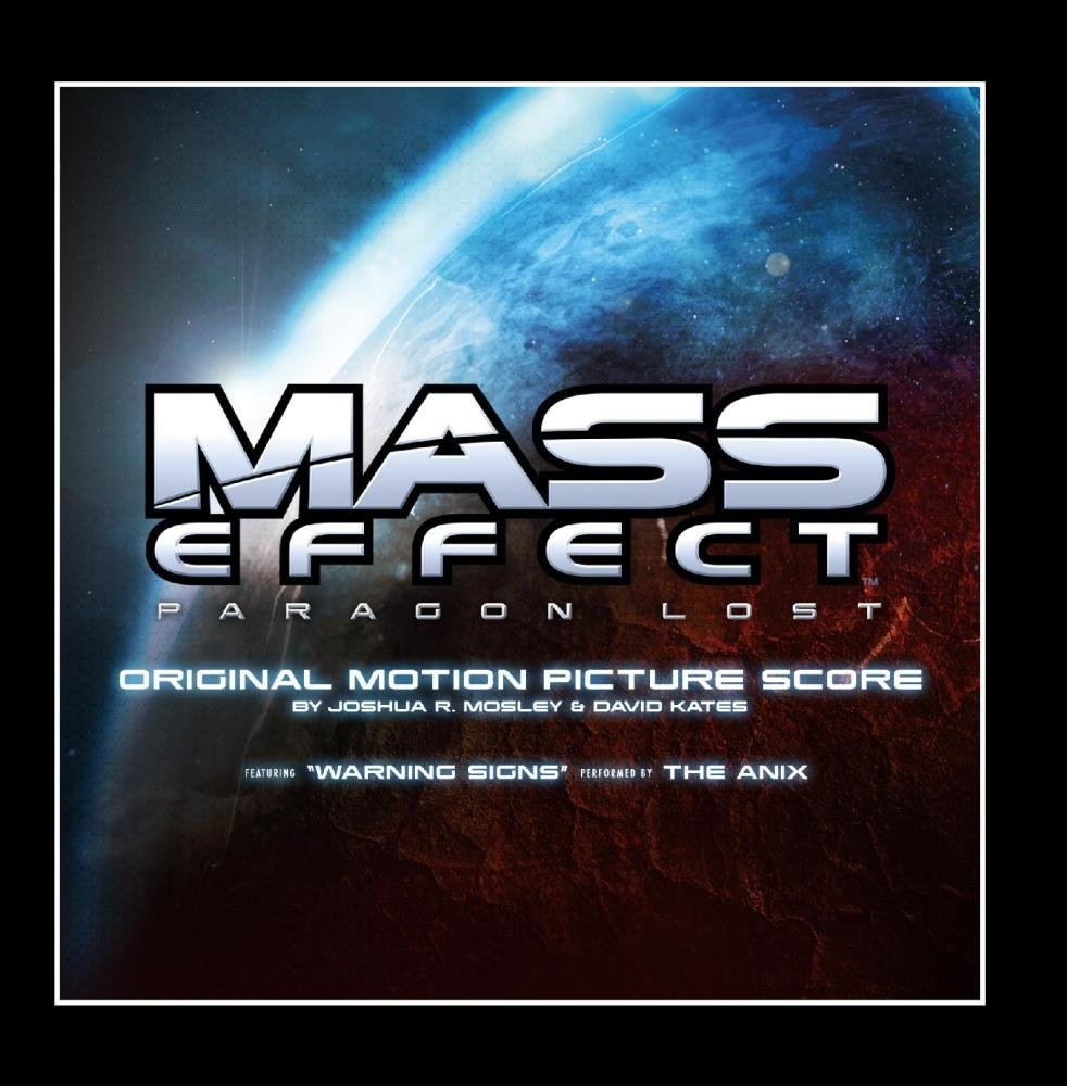 Various Artists Mass Effect Paragon Lost Original Motion Picture