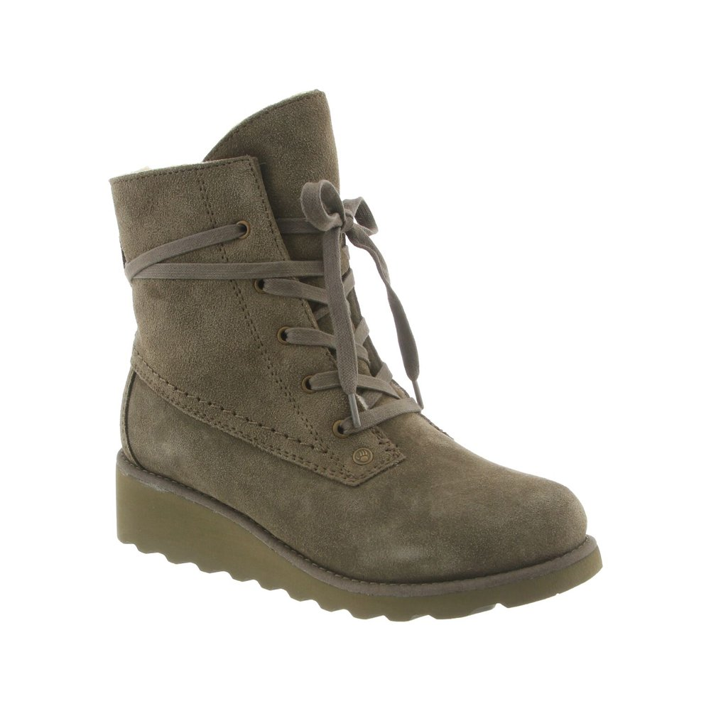 BEARPAW Women's Krista Boots B06XYL9H2H 8 B(M) US|Olive