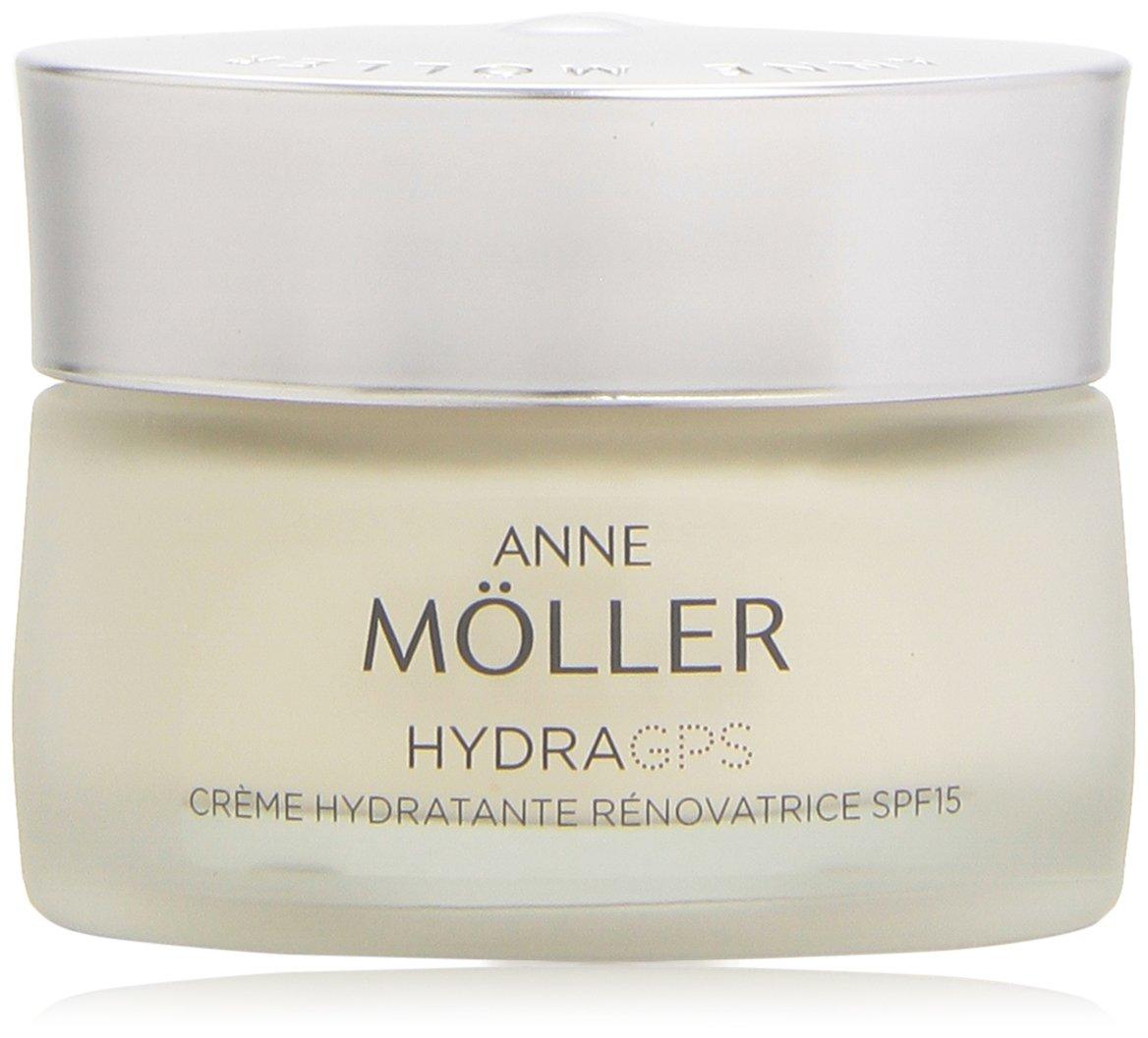 Anne Möller - HydraGPS - Crema hidratante renovadora, factor de protección solar 15-50 ml 8423986020343 42731_-50 ml