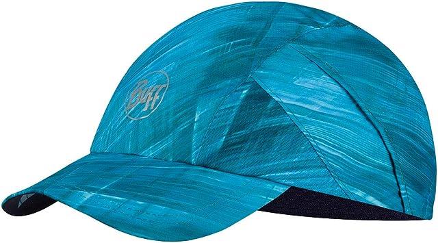 Buff Pro Run Cap Gorra, Unisex-Adult, Light Blue, One Size ...