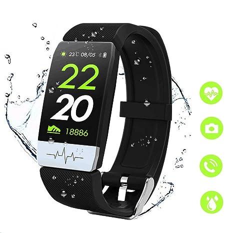 MTJJ Reloj Pulsera Actividad Fitness Tracker con Monitor ...