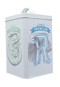 Underground Toys Harry Potter House Crests 6 x 4 Inch Storage Tin w/ Lid