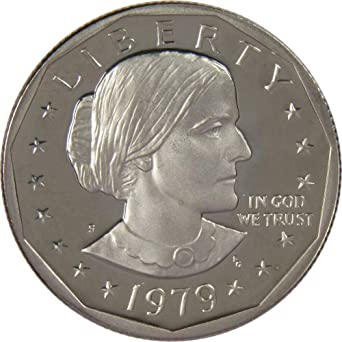1999 D Susan B Anthony $1 Coin Brilliant Uncirculated Condition