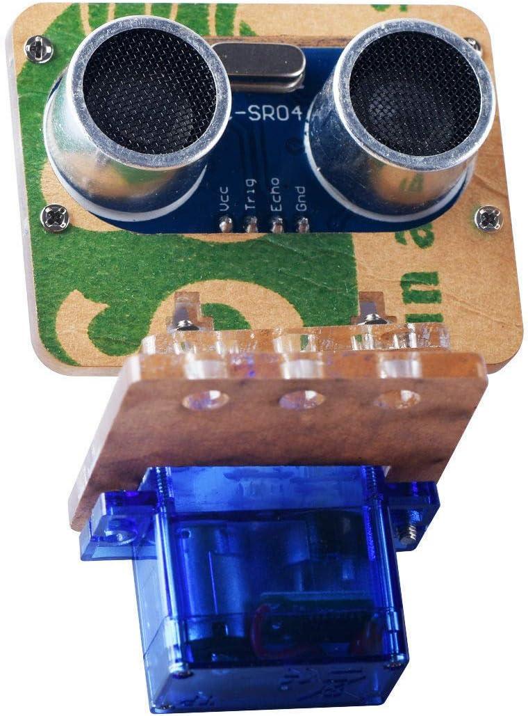 SG90 Servo+HC-SR04 Ultrasonic Ranging Module+Automotive Mount bracket kit