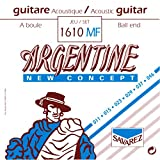 Savarez 1610MF Argentine Acoustic Jazz Guitar Strings, High Tension Ball End