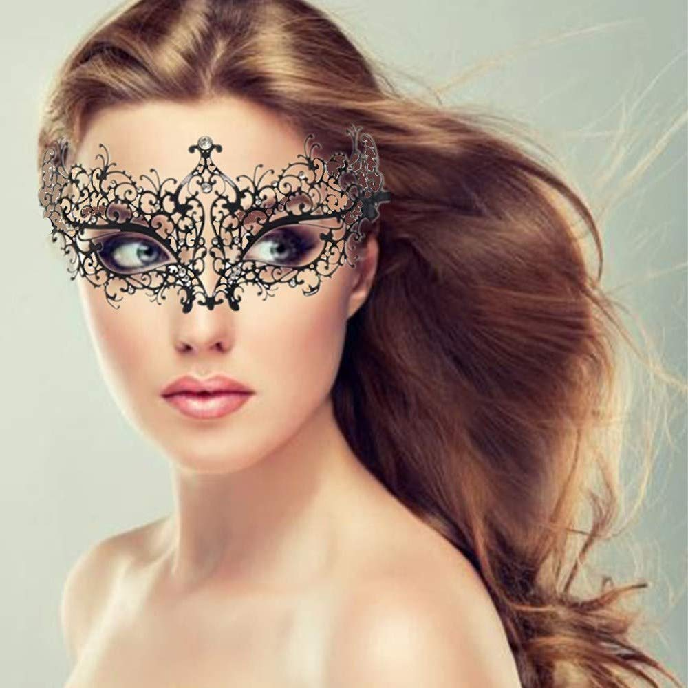 Masquerade Mask for Women Halloween Prom Party Mask Accessories