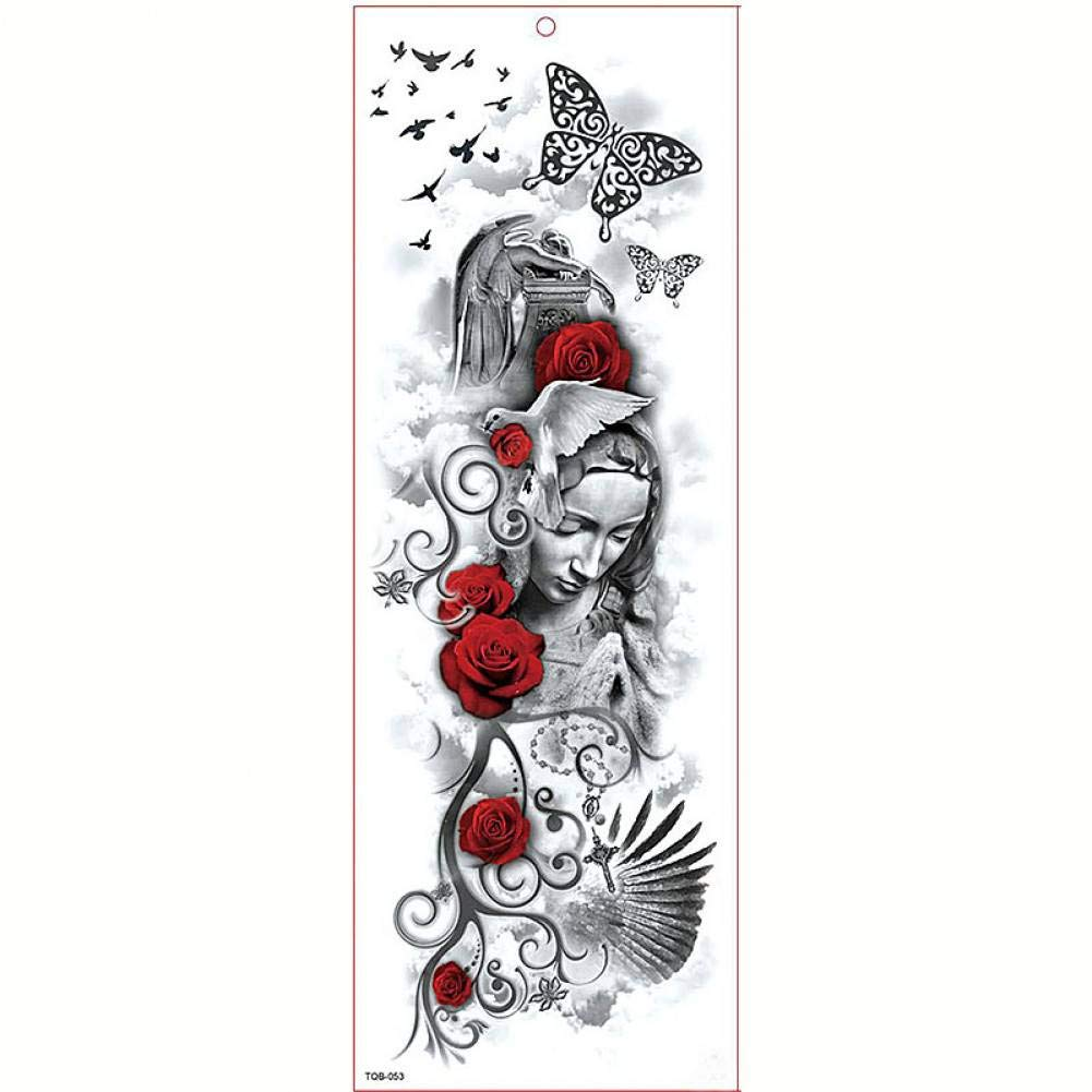 FBXSK Tatuaje De La Manga Del Brazo Grande Etiqueta Engomada Del ...