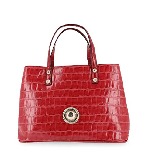 614417fdfcc1 Versace Jeans Handbag red  Amazon.co.uk  Shoes   Bags