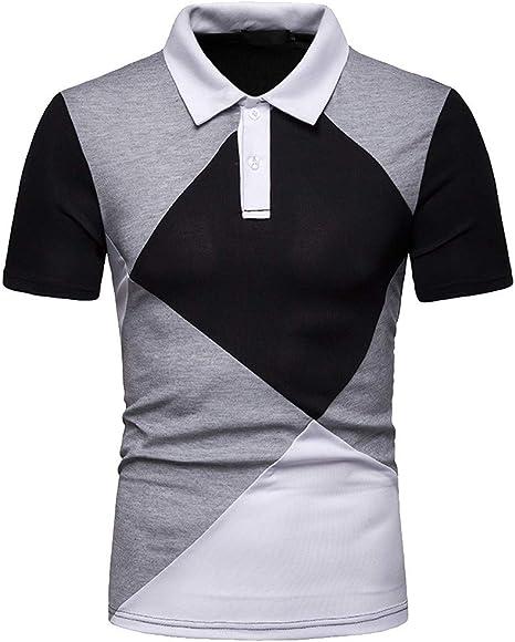 Camisas Hombres algodón Lino diseño de Moda Casual Color Sólido Regular Botón de Manga Larga Slim fit Camisetas Retro Tops Blusa Polos Hombre Camisa Vaquera Hombre Camisas Hombre Jodier: Amazon.es: Deportes y