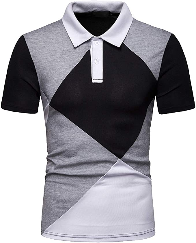 Homme Polo Manche Courte Tee Shirt Homme