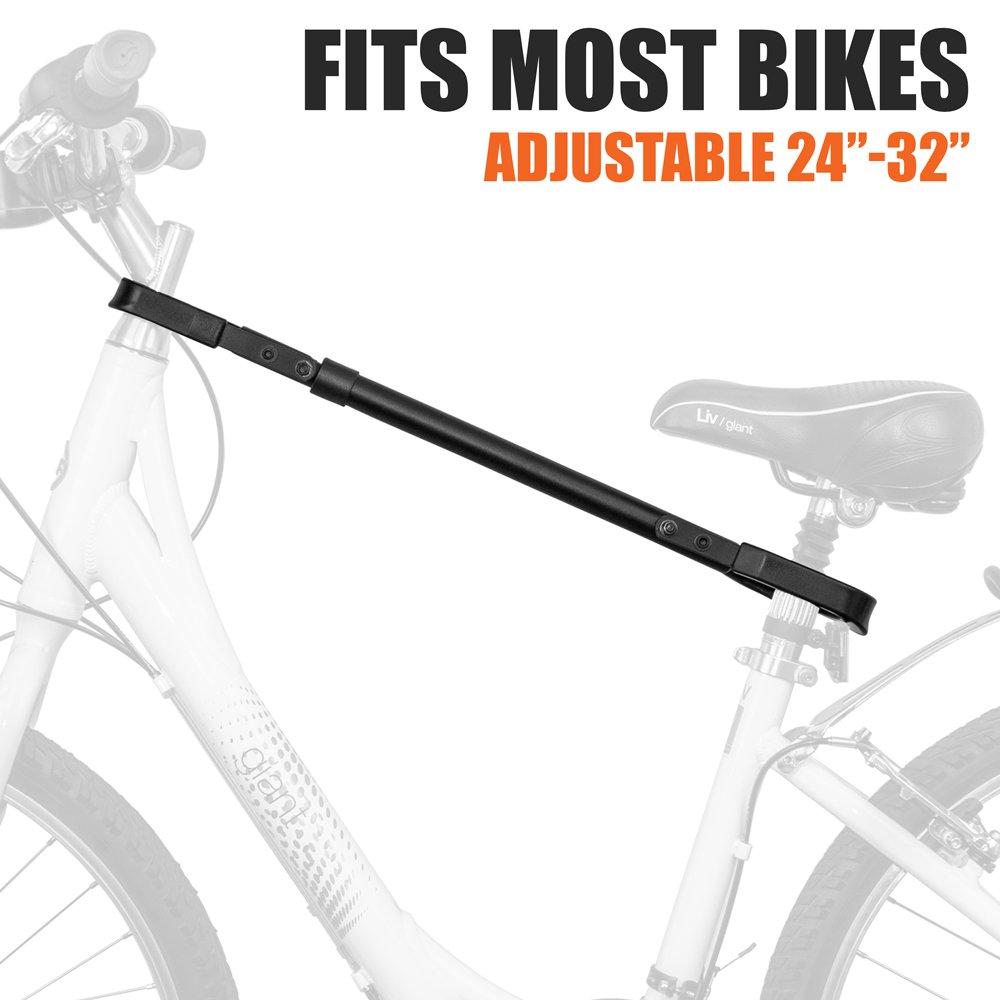 BV Bike Rack Adjustable Adapter Bar & Frame Cross-Bar TubeTop Adaptor by BV (Image #4)