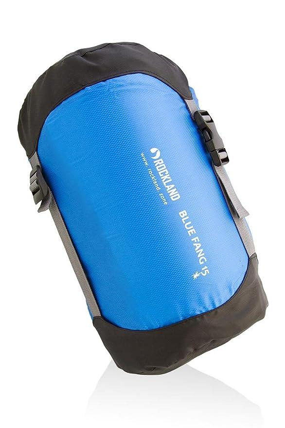 Rockland Saco de Dormir Blue Fang 15, Azul, 200 x 70 cm: Amazon.es: Deportes y aire libre