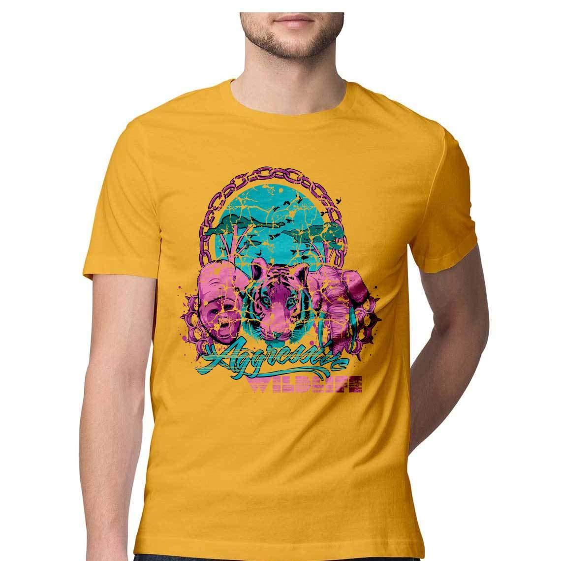 PARTUM CORDE Wildlife T Shirt: Amazon in: Clothing & Accessories