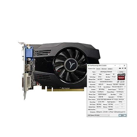 Docooler R5 240-4GD3 VA - Tarjeta gráfica DirectX11 (4 GB, 64 bits ...