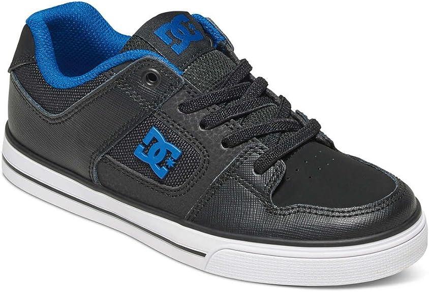 Chaussures de Skateboard gar/çon DC Shoes Pure Elastic