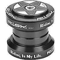 Dilwe Auriculares de Bicicleta Mecanizado CNC de Alta Precisión Aleación de Aluminio Auriculares de Bicicleta de 34mm