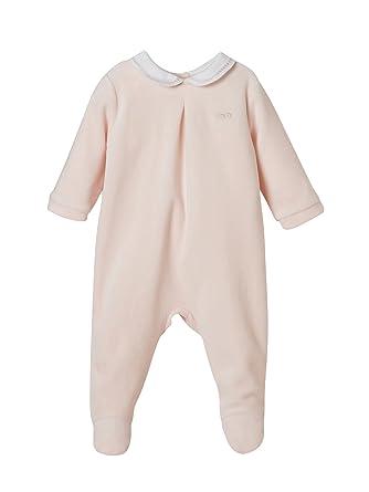 a633de8a927e2 Cyrillus Dors-Bien Velours bébé 1M Rose pâle  Amazon.fr  Vêtements ...