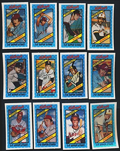 1980 Kellogg-s Baseball Near Complete Set 58 of 60 NRMT High Grade 22140