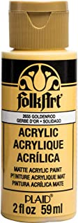product image for FolkArt Acrylic Paint, 2 oz, Goldenrod
