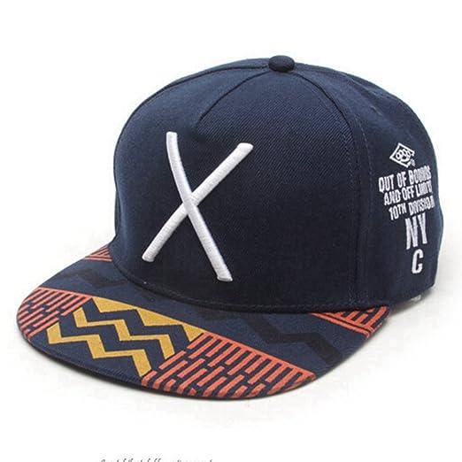KitMax Gorra de béisbol (TM) con Bordado de Big X para Deportes al ...