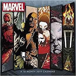 Marvel Knights Wall Calendar (2019): Day Dream: 9781635713398