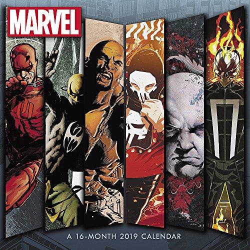 Marvel Knights Wall Calendar (2019) - Import It All